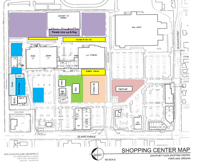 Eastport Plaza Map